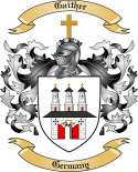 Gaither Family Crest from Germany
