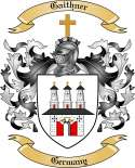 Gaithner Family Crest from Germany