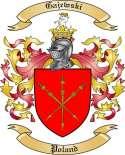 Gajewski Family Coat of Arms from Poland