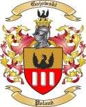 Gajowski Family Coat of Arms from Poland