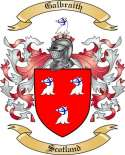 Galbraith Family Coat of Arms from Scotland