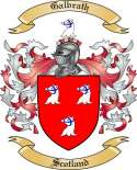 Galbrath Family Coat of Arms from Scotland