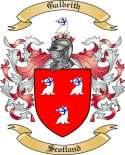 Galbrith Family Crest from Scotland