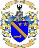 Galgani Family Coat of Arms from Italy