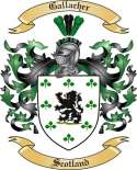 Gallacher Family Crest from Scotland