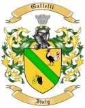 Gallelli Family Crest from Italy