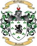 Galligher Family Crest from Ireland
