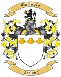 Gallogly Family Crest from Ireland