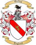 Gallop Family Coat of Arms from England