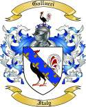 Gallucci Family Crest from Italy