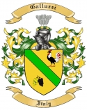 Galluzzi Family Crest from Italy
