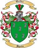 Galter Family Crest from Spain