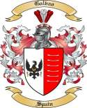 Galvao Family Crest from Spain