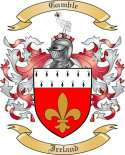 Gamble Family Crest from Ireland