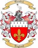 Gambol Family Coat of Arms from England