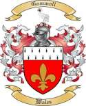 Gammoll Family Crest from Wales