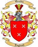 Gandee Family Crest from England