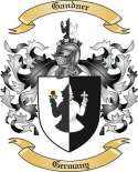 Gandner Family Coat of Arms from Germany