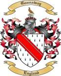 Gannaway Family Crest from England