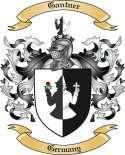 Gantner Family Crest from Germany