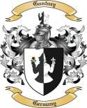 Gantney Family Crest from Germany