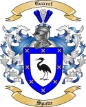 Garcet Family Coat of Arms from Spain2