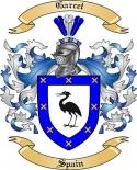 Garcet Family Crest from Spain2