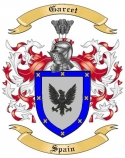 Garcet Family Coat of Arms from Spain