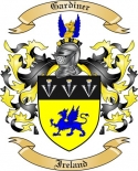Gardiner Family Crest from Ireland