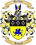 Gardner Family Coat of Arms from Ireland