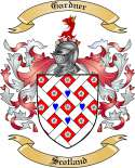 Gardner Family Coat of Arms from Scotland