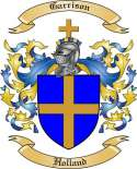 Garrison Family Coat of Arms from Holland