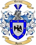 Garsea Family Crest from Spain