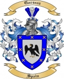 Garseaz Family Coat of Arms from Spain