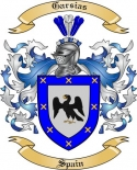 Garsias Family Crest from Spain