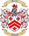 Garvie Family Coat of Arms from Ireland