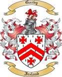 Garvy Family Coat of Arms from Ireland