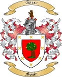 Garzo Family Crest from Spain3