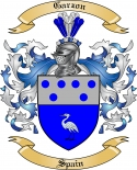 Garzon Family Crest from Spain2