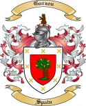 Garzon Family Crest from Spain3