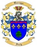 Garzya Family Coat of Arms from Italy