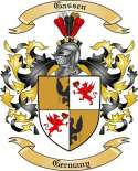 Gassen Family Crest from Germany
