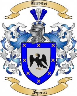 Gasset Family Crest from Spain