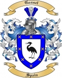 Gasset Family Crest from Spain2