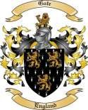 Gate Family Crest from England