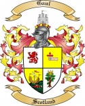 Gaul Family Coat of Arms from Scotland
