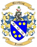 Gauthiay Family Coat of Arms from France2