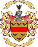 Gauthyaie Family Coat of Arms from France