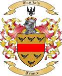 Gautiais Family Coat of Arms from France