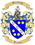Gautiait Family Coat of Arms from France2
